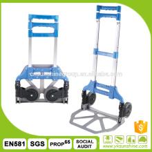 Multifunctional aluminium folding hand truck/Cheap foldable hand truck/folding trolley cart