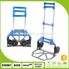 Multifunctional aluminium folding hand truck/Cheap foldable hand truck/folding trolley cart