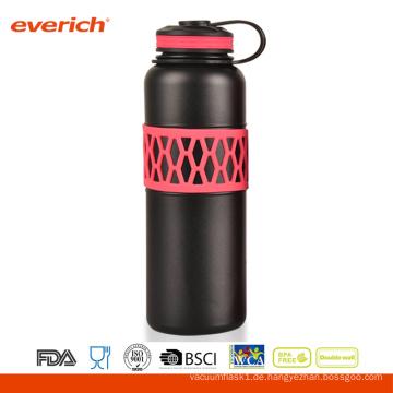 Kundenspezifische Farben-Edelstahl-schöne Hülsen-Vakuum-doppelte Wand-Wasser-Flasche
