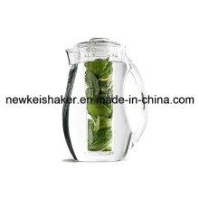 2L Акриловый пластиковый пивной стакан с ледяной сердцевиной