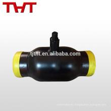 fabricante de la válvula de bola del eue estándar de soldadura especialmente para la calefacción