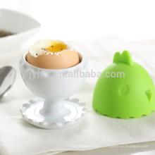сделано в продвижении Китая подарок керамические чашки яйцо с теплой силиконовой крышкой