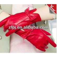 Moda mujer Etiopía productos de cuero exótico de guantes