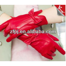 Fashion women Ethiopia exotic leather products of gloves