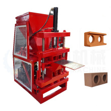 Output hot sale clay mud Interlocking brick making machine eco brava price