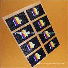 custom diamond shape acrylic car gem sticker