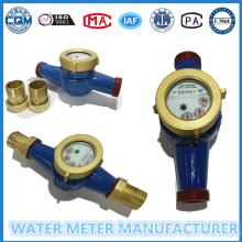Medidor de agua de hierro fundido para uso residencial