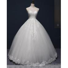 Perlen Spitze Ball Braut Hochzeitskleid