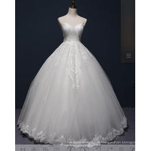 Beading Lace Ball vestido de noiva nupcial