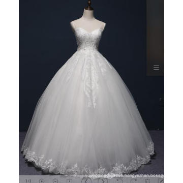 Beading Lace Ball Bridal Wedding Gown