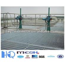 La rejilla de acero galvanizada caliente de la rejilla de la barra de acero de la fabricación profesional / la rejilla soldada de la barra de acero de anping (ISO9001: 2008)