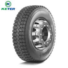 Pneu radial de camion de haute qualité 1000r15, pneus de camion de marque de Keter avec de hautes performances, prix compétitifs