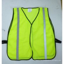 """High Visibility Reflective Vest with Hook & Loop Closure and 1"""" Reflective Tape"""
