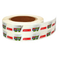 Custom Sticker Roll Label Printing Gold Foil Labels