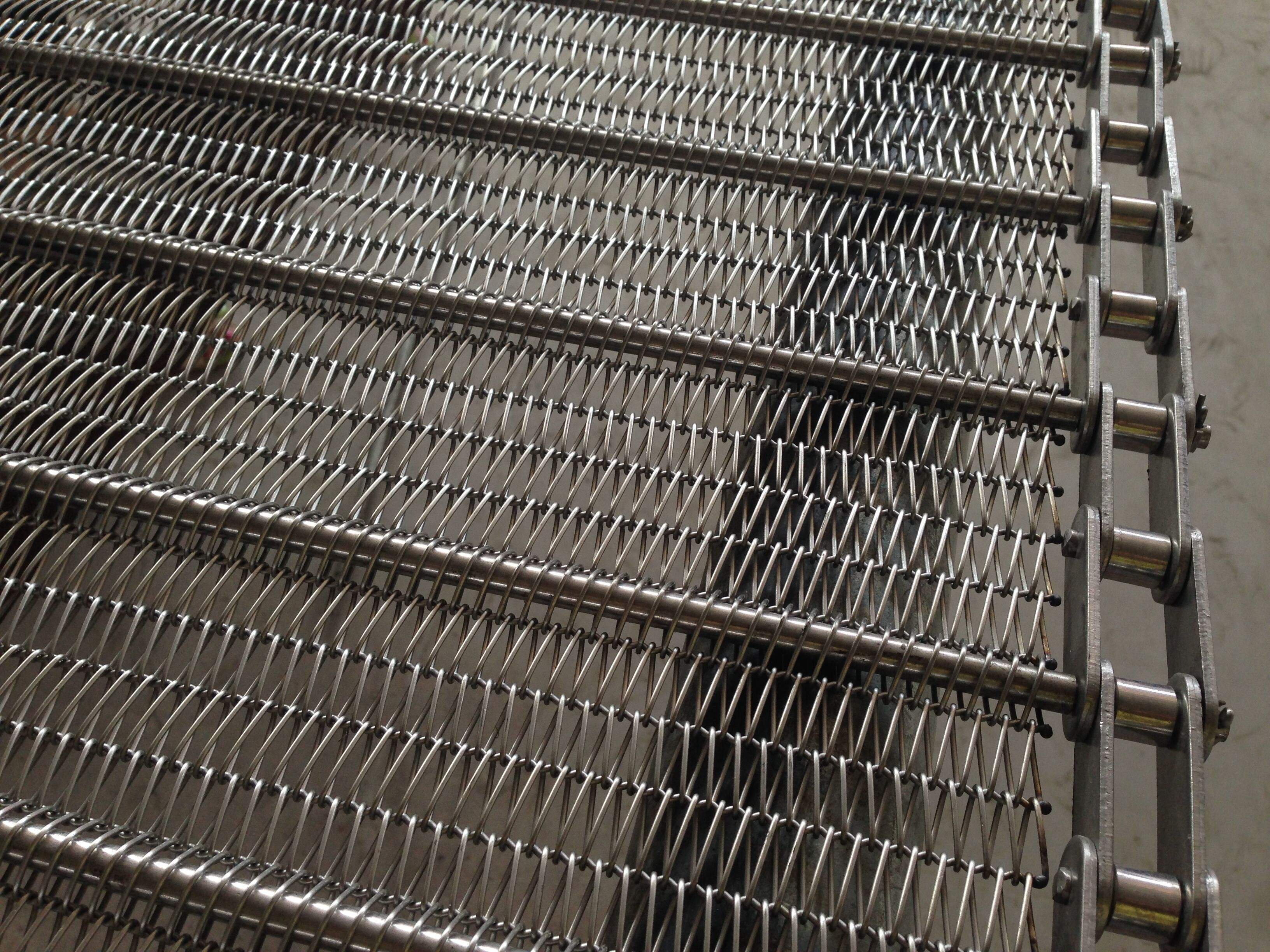 mesh belt conveyor machine