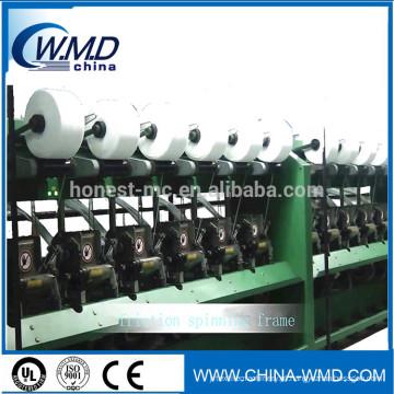vendas de fabricantes chineses Máquina de fiação de fricção de algodão reciclado para fibra de plantas naturais