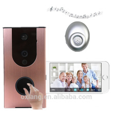 High qualty WIFI doorbell camera with Indoor Dingdong support cloud storage wireless video door phone