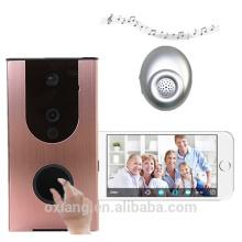Alta qualty WIFI campainha câmera com Dingdong Indoor suporte nuvem de armazenamento de vídeo sem fio da porta do telefone