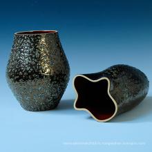 Pot de fleurs en céramique de conception créative pour décoration de jardin (BS1510)