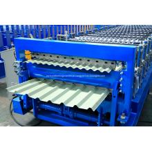 Rolo certificado ISO / SGS de dupla camada que forma a máquina