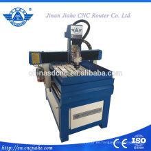 Máquina de grabado del cnc de piedra pequeño 6090 para el guijarro
