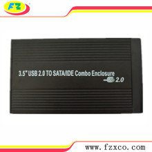 USB2.0 to 3.5 SATA&IDE Combo HDD Enclosure