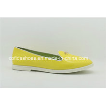 Simple Classic Comfort Leather Women Shoe