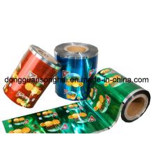 Embalaje de Alimentos Laminados Film / Plastic Snack Roll Film / Metalized Film