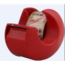Mini snail shaped adhesive tape holder