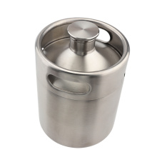 Home Edelstahl Bier Growler Fermenter Barrel