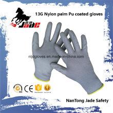 13G Gary PU guante recubierto
