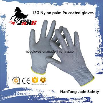 13G Poliéster Palm Gart Luva Revestida PU En 388 4131