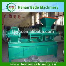2015 China most popular charcoal bar extruder briquette machine/coal stick press machine 008613253417552