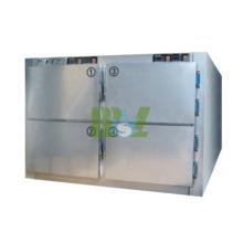 Armoire de sécurité en acier inoxydable MSLMR04 avec compresseur Danfoss