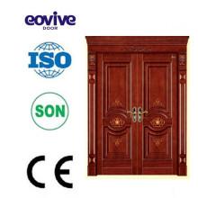 Diseño de puertas interiores de chapa de roble de alta calidad