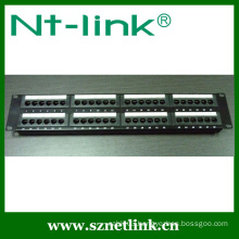 19 inch Rack Mount 2U 48 Port RJ45 UTP Cat6 Krone Patch Panel