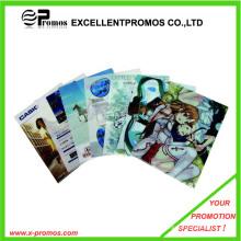 Bolso colorido de encargo del archivo de la historieta del PVC (EP-F9118-2)