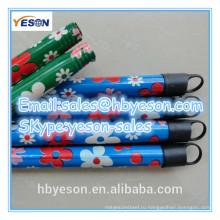 Метла с деревянной ручкой с покрытием из пвх / деревянной ручкой для метлы с пластиковым покрытием