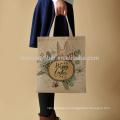 Atacado impresso sacola de linho de juta com logotipo personalizado