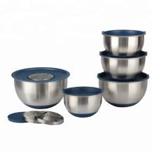 Premium Food Grade Deep Rührschüssel mit Reiben