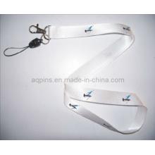 Custom Heat Transfer Lanyard with Metal Hook