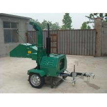 Déchiqueteuse à bois puissance d'individu de moteur Diesel 18HP