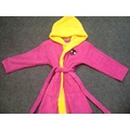 Low Price Low MOQ Customized 100% Cotton Kids Baby  Bathrobe