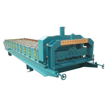 Color Coated Glazed Roof Tile Roll Forming Machine