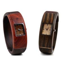 Hlw045 Soem-Männer und Frauen hölzerne Uhr Bambus Uhr hohe Qualität Armbanduhr