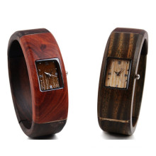 Hlw045 OEM Men′s and Women′s Wooden Watch Bamboo Watch High Quality Wrist Watch