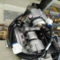 Cuatro tijera de la bomba de la inyección de Waterjet de la inyección doble que teje el poder