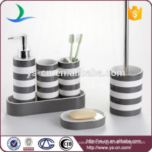 Modern & contemporary round ceramic bathroom and kitchen accessories