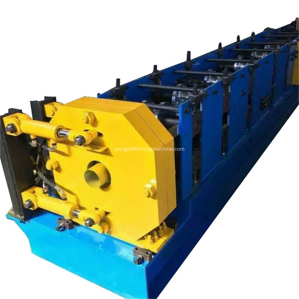 Hujan Air Keluli Paip Down Roll Forming Machine