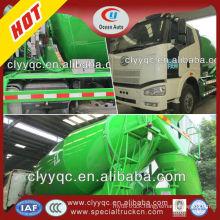 FAW 10CBM concrete mixing truck concrete mixer drum specifications